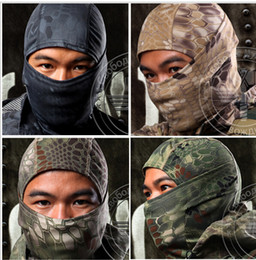 Wholesale Breathing Face Mask - Chiefs Rattlesnake Tactical Airsoft Hunting Wargame Breathing Dustproof Face Balaclava Mask Motorcycle Skiing Neck Scarf for Hunting Hiking