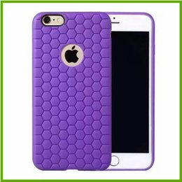 Wholesale Cover Honey - Honey Comb Busy Bee Patterns Protective Case For Iphone Cell Phone Snap-on Soft Back Cover For Samsung Colorful TPU Slim Covers For Sony