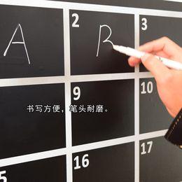 Wholesale Chalkboard Pens - Free Shipping Liquid Chalk Pen Available Writing Words On Vinyl Blackborad Chalkboard Sticker For Baby Gigt
