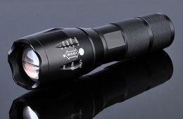 luzes de ímã de bateria led Desconto E17 cree xml t6 led lanterna 2000 lumens tático à prova d 'água zoomable poderosa lâmpada de acampamento lanternas de tocha por 3xaaa ou 18650 bateria