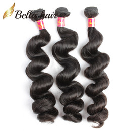 Wholesale Cheap 22 Inch Brazilian Weave - Peruvian Indian Malaysian Brazilian Loose Wave Unprocessed Virgin Human Hair Weaves Extensions 3or4pc lot 7A Wholesale Cheap Hair Wefts