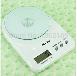 Wholesale Conversion Square - Wholesale-Digital Scale Household electronic scale electronic Four kinds of conversion units of measurement kitchen scale 7kg*1g