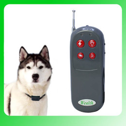 Wholesale Multifunction Products - Pet Behave Remote Training System Remote Training Controller Multifunction Training Collar 4 levels of Vibration and Static HT-021