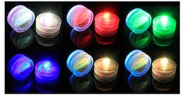 Decorazioni alti del partito di tè online-Di alta qualità 100% impermeabile LED candela decorazione di nozze sommergibile Floralyte LED Tea Lights Decorazione del partito LED luce floreale 100pcs