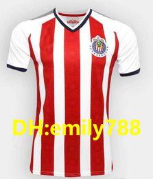 Wholesale Custom Women Clothing - thai quality 17 18 CHIVAS women soccer jerseys guadalajara custom name number lady soccer uniform girl football jersey clothing