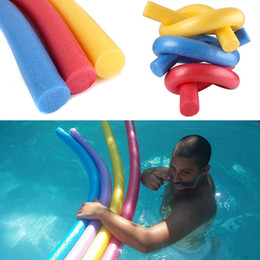 Wholesale Floating Tubes - Pool Swimming Floats Tubes Beach Swimming Floating Foam Sticks Swim Beginner Pool Noodle Water Float Aid Noodles Foam Floatings