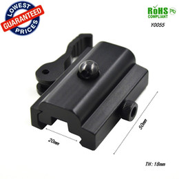 Wholesale Mounting Adapter - Y0055 QD Quick Detach Cam Lock Bipod Sling Adapter Mount for Picatinny Weaver Rail 20mm Bipod or Sling Swivel Airsoft or Paintball