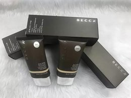 Wholesale Foundation Sand - New makeup Becca Foundation Ever Matte Shine Proof Foundation Sand and Shell BB Cream Free Shipping