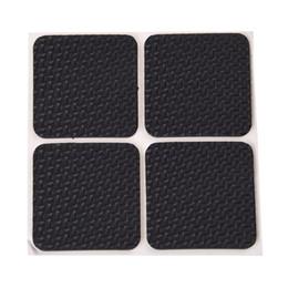 Canada Tapis adhésif en mousse noir antidérapant en forme de carré de 4 pièces pour meubles supplier wholesale furniture pads Offre