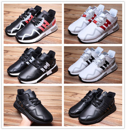 Wholesale Train Cushion - Sale Online 2017 EQT Support Cushion ADV Men's Running Shoes Men Women Top Quality Leather Sport Training Sneakers Run Shoe Size 5-10