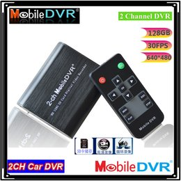 Wholesale Dvr Board Video Card - Mini DVR recorder Support SD Card 128GB Real time 25fps 2ch dvr Board MPEG-4 Video Compression Motion Detection vga 640*480
