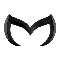 Wholesale Self Adhesive Carbon Fiber - batman for mazda Car 3d Logo carbon fiber Emblem Badge Self Adhesive Badge Decal superman bat comics The Dark Knight Vinyl Decal Sticker