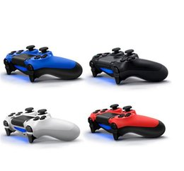 Wholesale Ps Controller Bluetooth - NEW PS4 PlayStation 4 Bluetooth Wireless USB Wired Game Controller Gamepad Joystick PS 4 USB Cable game Accessories