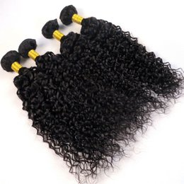 Wholesale Indian Remy Curly Wefts - Virgin Brazilian Hair Bundles Human Hair Weaves Jerry Curly Wefts 8-34Inch Unprocessed Peruvian Indian Mongolian Remy Human Hair Extensions