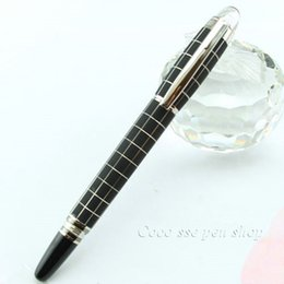 Wholesale Promotional Fountain Pens - Free Shipping New High Quality New Design Black Metal Fountain Pen Writing Pens , Gift Set For Promotional Stationery