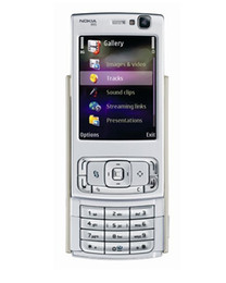 Wholesale Dual Screen Gsm Mobile Phone - Original NOKIA N95 8GB Mobile Phone 3G 5MP Wifi GPS 2.8''Screen GSM Unlocked Smartphone Russian keyboard Arabic Keyboard