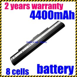 Wholesale Asus U35 - High quality- HOT- New 8Cells Laptop battery for Asus U30 U35 U45 UL30 UL30A UL50 UL80 UL80A Pro32 X5G A41-UL50 A41-UL80 A42-UL30 A42-UL50 A