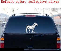 Wholesale Car Oil Changes - Cane Corso cane da corso Cane Corso Italian vinyl decal lg Truck Dog Car Decal Vinyl Sticker