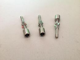 Wholesale titanium nail vapor - Fixed Titanium Nail Ti Nail for Vapor Globe 10mm Grade 2