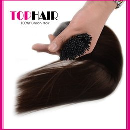 Wholesale Direct Wholesale Supplier - Supplier Direct Indian Pre Bonded Hair Extension Stick I Tip Straight Human Hair Keratin 100Strands lot 13 Color Available