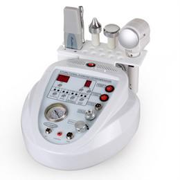 Wholesale Diamond Ultrasonic - 5 In 1 Multifunction Dermabrasion Machine Ultrasonic Skin Microdermabrasion Machine Diamond Peeling Facial Machine With Skin Scrubber