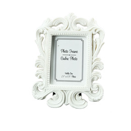 Wholesale Gift Cards Pictures - FEIS wholesale(white,black) Baroque photo picture frame Wedding Place Card Holder Engagement Favors Gift Party Accessory Decoration Supplies