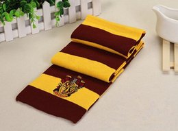 Wholesale hufflepuff scarf - Scarf Scarfs For Women Cashmere Scarves Scarves Black Uk Harry Potter Scarf Gryffindor-Slytherin-Hufflepuff-Ravenclaw Gifts Cosplay Scarves