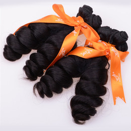 Wholesale Curl Cambodian Hair - 7A Grade Cambodian Virgin Hair Extensions Aunty Funmi Romance Curl Human Hair Weave 4 Pieces Lot Irina Hair Products