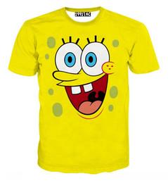 Wholesale Simpson Flash - w1209 3D print funny Unisex t shirt tshirt Cartoon Network expression duck tongue saliva Simpson Men t-shirt women t shirts mens tops