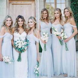 Pale Blue Bridesmaid Dresses Uk - Ocodea.com