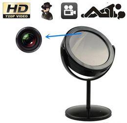 Wholesale Professional Video Surveillance - Professional Hidden Home Mirror Spy camera video recorder with Motion Detection 720 x 480 Spy mirror Camera Security Surveillance Mirror