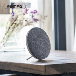 Wholesale High End Hifi Wholesaler - Original REMAX M9 2018 high-end bluetooth mini speaker double stereo portable wireless soundbar speakers 6hours lated distinctive cloth