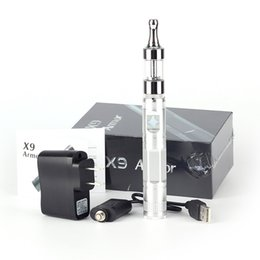 Wholesale Ego Patent - EGo atomizer Pro tank 2 Vaporizer Patented X9 Battery Electronic Cigaretee Kit X6 Battery Upgraded Version Huge Vapor protank 2 Atomizer