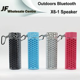 Wholesale Honeycomb Speakers - X6-1 Honeycomb Bluetooth Speakers Outdoor Wireless Mini Portable Subwoofer Support TF Card Handsfree Loud Soundbar For iPhone Samsung HTC