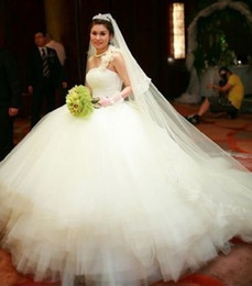 Discount sexy wedding dress tube - New Design Dream Ball Gown wedding dress luxury tube top heart-shaped Bridal Dress the whole diamond wedding dress 2015 vestido de noiva