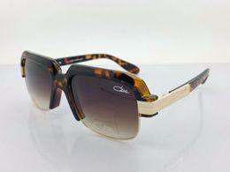 Wholesale Top Brand Sunglasses Cheap - Ca zal Sunglasses Glass 670 Top Quality polarized Cheap Men Women Sunglasses brown black Luxury Brand Designer Oversized Eyewear Oculos