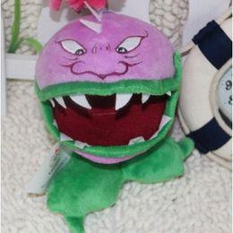 2019 brinquedos do ônibus do gato Plants vs Zombies Plush Toy Stuffed Animal - Chomper 16cm / 6.3Inch Alto