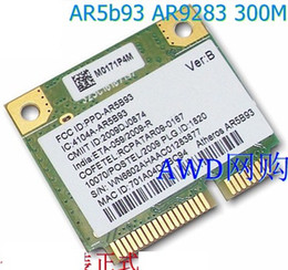 Wholesale Ethernet Test - Wholesale- SSEA Network Card for Atheros AR5B93 AR9283 half Mini PCI-E 802.11b g n wireless card 300Mbps tested well