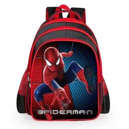 Wholesale Spiderman School Bags - High Quality Spiderman Backpack Kids School Bags for Boys Schoolbag Backpacks For Children Backpacks