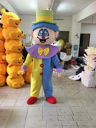 Wholesale Clown Custom - 2018 Hot sale lovely Big clown mascot costume cute cartoon clothing factory customized private custom props walking dolls doll clothing