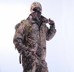Wholesale Camouflage Hunting Blinds - 25%OFF Free Shipping One Suit OAK DUCK BLIND Waterproof Camouflage Hunting Clothes,Bird Watching Camo clothes,Camo Jacket pant Bibs