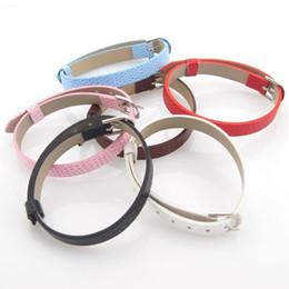 Wholesale Dog Leather Belts - Min Order $5 (Mix Order) Mix 10 Colors 10mm Dog Collar DIY Leather Belt Fit Slide Letter DIY Dog Collar Belt DIY Jewelry