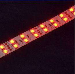 Wholesale Double Rows Waterproof Led Strip - 5050 RGB LED Strip light DC12V SMD5050 led flexible strip 120leds m LED Strip lamp non-waterproof double row highlight RGB led strip