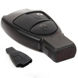 Wholesale Wholesale Benz Fob - 2 Buttons Replacement Remote Key Fob Case For Mercedes Benz C E ML Class VE366 W0.5