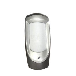 Wholesale Dual Outdoor Detector - Weather Proof Outdoor Dual PIR detector   Motion Sensor with True Motion Recognization & Pet-immune Function