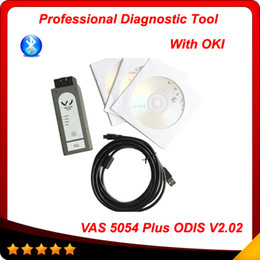 Wholesale Scanner Vas Oki Chip - VAS5054 Plus ODIS 2.02 Bluetooth Version with OKI Chip Support UDS Protocol VAS 5054A scanner 2015 Top DHL free
