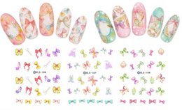 Wholesale Stars Nail Stickers - 500pcs lot Free Shipping 3D Night Noctilucous Little Twins Star Nail Wraps Nail Paste Sticker Decal