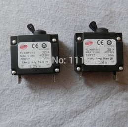 Wholesale Cheap Circuit Breakers - 2 X 30A AC230V GENERATOR ELECTRIC CIRCUIT BREAKER FREE SHIPPING CHEAP 2PCS LOT GENSET PARTS