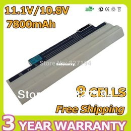 Wholesale Aspire One 722 Battery - Lowest price White 9 Cell Laptop Battery for Acer Aspire One 522 722 AO522 AOD255 AOD257 AOD260 D255 D257 D260 D270 AC700 AL10B31