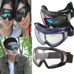 Wholesale Tactical Airsoft Protection Goggles Glasses - Wholesale-Free Shipping Protection Airsoft Goggles Tactical Paintball Clear Glasses Wind Dust Motorcycle